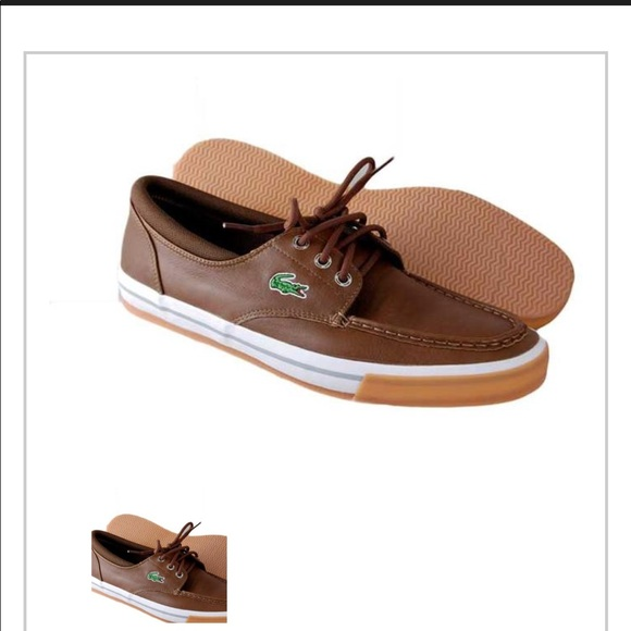 653c6cd79fa129 Lacoste boat shoes